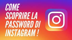 come scoprire la password di Instagram