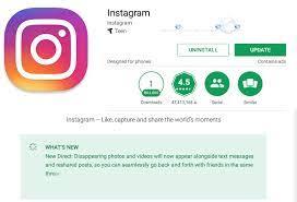 come si aggiorna Instagram